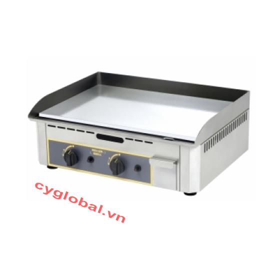 Bếp chiên mặt phẳng mạ chrome Roller Grill PSR 600 EC