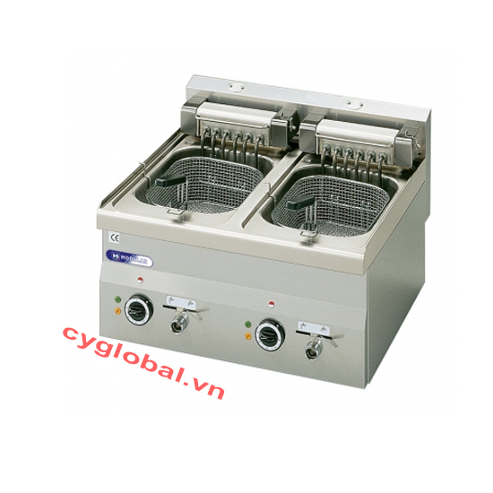Bếp chiên nhúng đôi 8 lít Modular FU 60/60 FRE