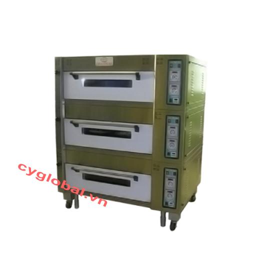 Lò nướng điện 3 tầng 6 khay Chanmag CM-ECD306A