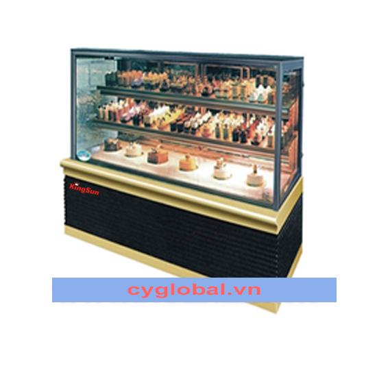 Tủ trưng bày bánh cao cấp 3 tầng KS-XG-400F