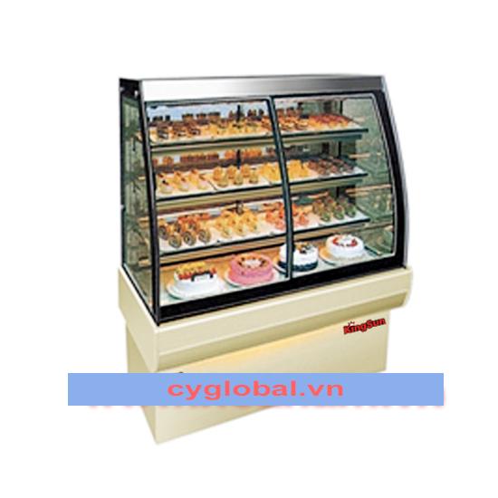 Tủ trưng bày bánh cao cấp 4 tầng KS-KC538