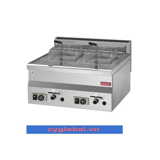 Bếp chiên nhúng đôi 8+8 lít Modular FU 60/60 FRG