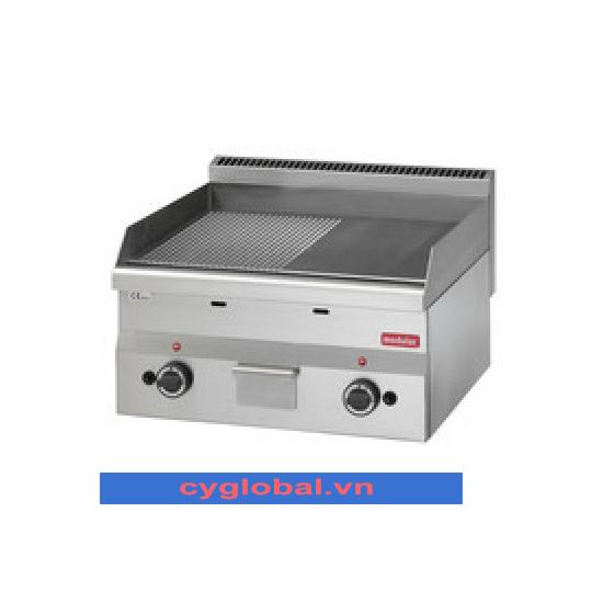 Bếp chiên nửa nhám nửa phẳng 600 Modular FU 60/60 FTRG