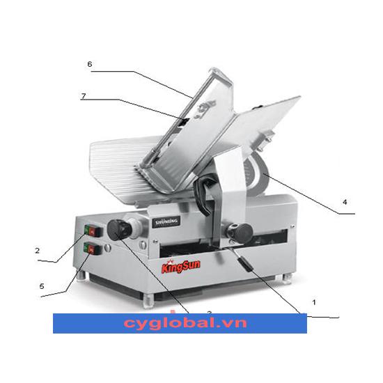 Máy thái thịt chín & đông lạnh KS-SL-300B