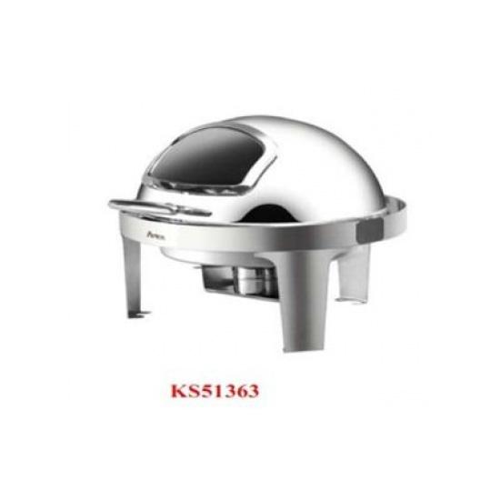 Nồi hâm buffet tròn chân inox KS51363