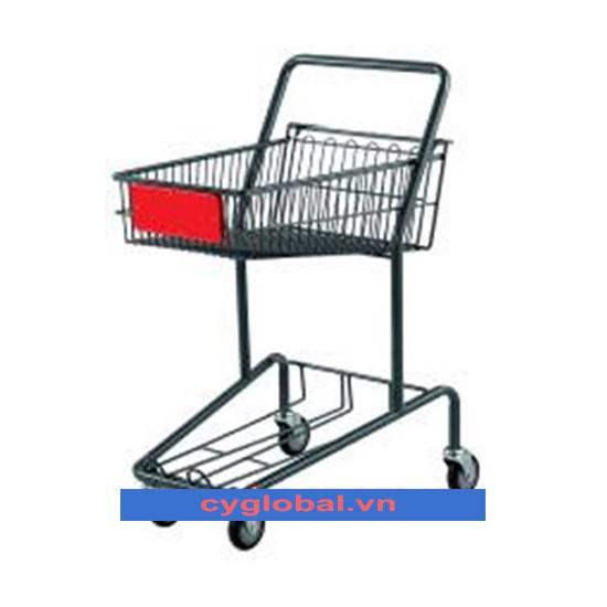 Xe đẩy trong siêu thị KS-GST-017